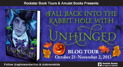 Unhinged tour banner