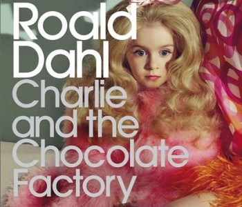 50-Year Anniversary Cover for Charlie and the Chocolate Factory