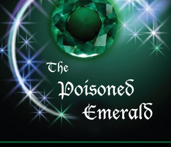Cover Reveal for THE POISONED EMERALD by Sarena and Sasha Nanua