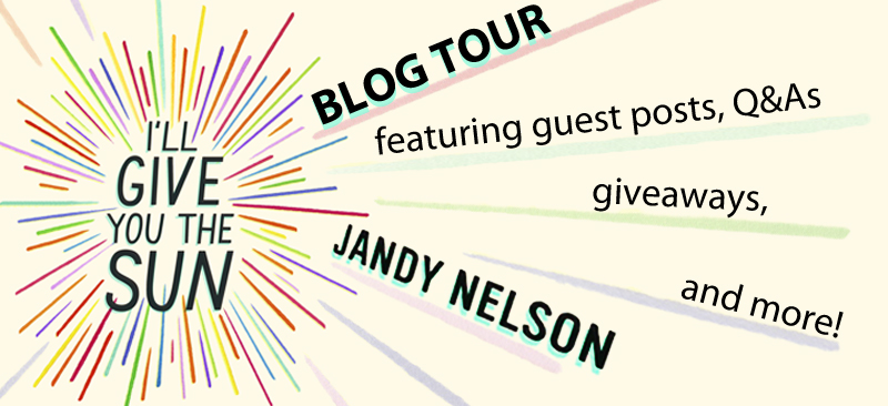 Tour Stop: Favorites Quotes from I'LL GIVE YOU THE SUN by Jandy Nelson + Giveaway