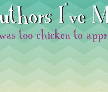 Once Upon A GIF – authors I've met or I was just too chicken to approach