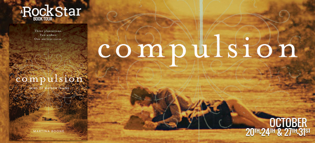 Guest Post with Martina Boone, Author of COMPULSION + Giveaway